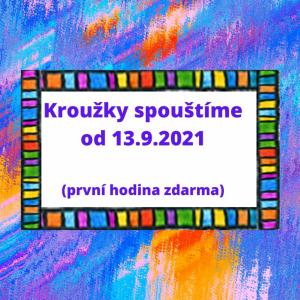 Kroužky na rok 2021/2022